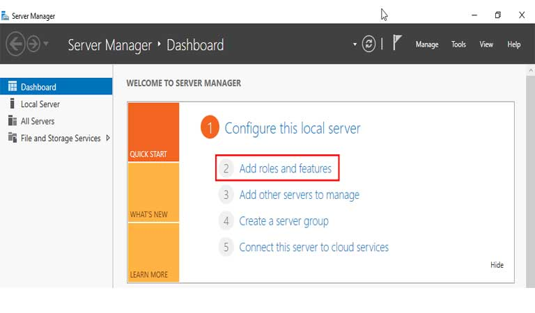 Server Manager Add Roles And Features Windows Server 2016 - iis چیست